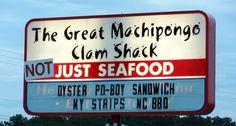 Great clam shack on VA's eastern shore