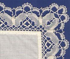 Butterfly Handkerchief Edging