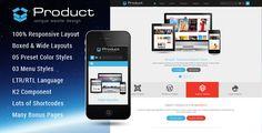 Product - Responsive Business Joomla Template