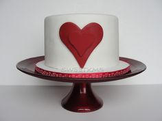 Double Heart Cake — Valentine's Day