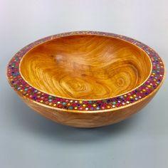 Woodturning Wood Bowls Wood Jewelry Wood Art by AATurning on Etsy Wood Turning Lathe, Wood Turning Projects, Wood Lathe, Segmented Turning, Wood Turned Bowls, Wood Bowls, Woodworking Lathe, Learn Woodworking, Woodworking Projects