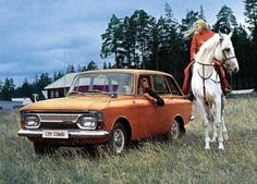 Soviet car ads from the 1970s. Need I say more?