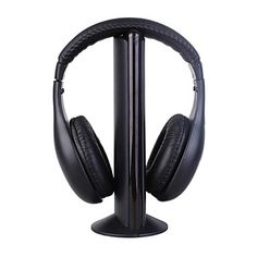 5 en 1 casque MH2001 salut-fi casque sans fil écouteur pour fm radio mp3 pc tv - EUR € 7.42