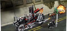 All my favorite things!!!  LEGO, Ninja Turtles and motorcycles