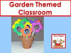Ideas for creating a garden themed classroom