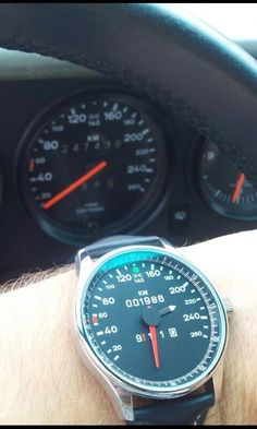 Watch speedometer Porsche 911 carrera 1986.