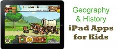 22 History and Geography iPad Apps for Kids – Imagination Soup Fun Learning and Play Activities for Kids History For Kids, Study History, Teaching Social Studies, Teaching History, Teaching Spanish, Kids Education, Education English, Educational Technology, Kids Learning
