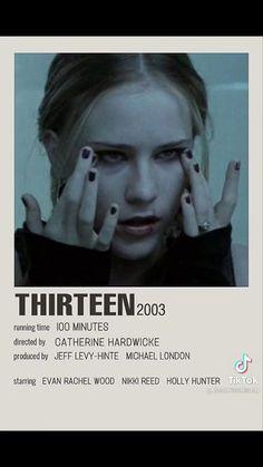 Iconic Movie Posters, Iconic Movies, Movies To Watch Teenagers, Catherine Hardwicke, Evan Rachel Wood, Nikki Reed, Black Hair, Running, Stars