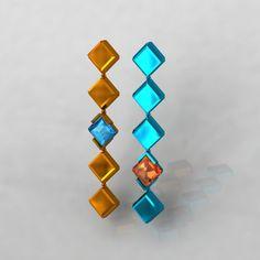 tourmaline and garnet earrings - CAD Garnet Earrings, Fine Jewelry, Jewellery, The Rock, Jewelry Collection, Watches, Create, Art, Art Background