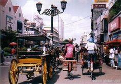 Malioboro Street, Yogyakarta.