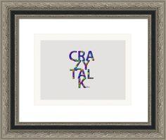 crazy talk stream of colors, by  fractal mandala art