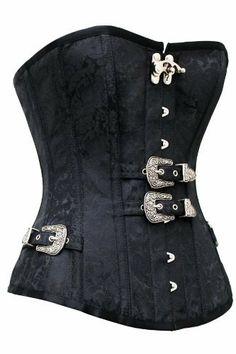 sexy Vintage Corsage Korsett schwarz Bustier Corsagentop Gothic Steampunk R-Dessous, http://www.amazon.de/dp/B00G3761M0/ref=cm_sw_r_pi_dp_GCM8sb0KPEYBY