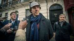 Listen to Benedict Cumberbatch Worry About His Fans. It was an unscripted, unguarded moment of pure Benedict Cumberbatchness, a moment of genuine concern caught on tape. here: http://www.hollywoodreporter.com/news/listen-benedict-cumberbatch-worry-his-746104