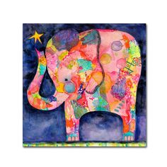 Booker  All Within Reach Elephant  Canvas Art 8a90f68ae7e2