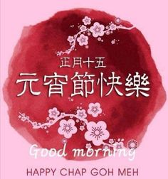 Chinese New Year Greeting, New Year Greetings, Good Morning Happy, Christmas Bulbs, Holiday Decor, Christmas Light Bulbs