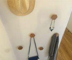 DIY : Fabriquer des patères en bois pour une entrée stylée !