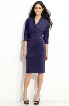 Suzi Chin for Maggy Boutique Faux Wrap Jersey Dress available at #Nordstrom