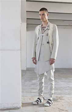 Customized ▲ ✕ BORIS BIDJAN SABERI SS14 LOOKBOOK Cyril Trehoux