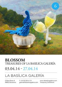 One of my brooches is taking part in this great exhibition at La Basilica Gallery in Barcelona.
