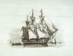 Print of H.M.S. Canopus