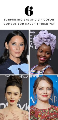 6 surprising eye and lip makeup combinations that you haven& yet . - 6 surprising eye and lip makeup combinations you haven& tried yet - Beauty Hacks Eyelashes, Beauty Hacks Lips, Cleanser For Combination Skin, Combination Skin Care, Eye Makeup Cut Crease, Lip Makeup, Beauty Makeup, Makeup Tricks, Makeup Tutorials