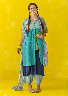 Kleid aus Leinen/Baumwolle 82717_82717-70.tif