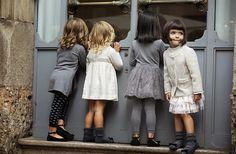 ALALOSHA: VOGUE ENFANTS: United Colors of Benetton toddler girl AW'13