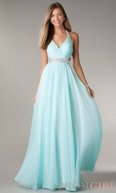 Prom Dresses 2014 Porm Dress Halter Backless Ruched Bust Beaded Waistline Full Length Chiffon , You will find many long prom dresses and gowns from the top formal dress designers and all the dresses are custom made with high quality Prom Dresses Under 200, Homecoming Dresses Long, Cheap Formal Dresses, Straps Prom Dresses, Prom Dresses 2016, Prom Dresses For Teens, Cute Prom Dresses, Quinceanera Dresses, Dance Dresses
