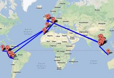 Tips on planing a Round the World trip.