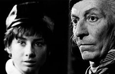 William Hartnell and Carole Ann Ford as the Doctor and Susan - Happy 49th Birthday, Doctor Who!
