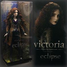 Victoria Twilight Saga Vampire Goth Barbie Doll Pink Label Eclispe Redhead 2010 | eBay