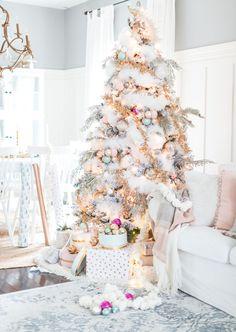 pastel christmas dec