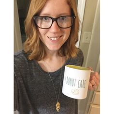 A fresh haircut always feels so good! Also how cute is this mug?! It's from Kroger!
