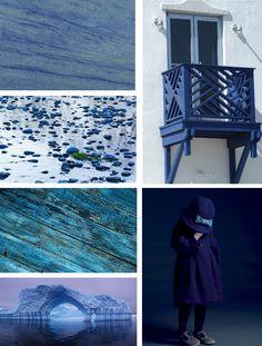 Blue Mood Board