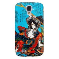 Legendary Suikoden Hero Warrior Jo Kuniyoshi art Samsung Galaxy S4 Cover #case #tattoo #suikoden #hero #warrior #jo #kuniyoshi #art #classic #japanese #oriental #Japan #samsung