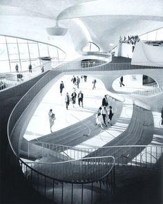 Eero Saarinen was completely ahead of his time