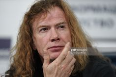 Dave Mustaine of 'Megadeth' attends a press conference in Tass Russian News Agency on November 3, 2015 in Moscow, Russia. (Photo by Dmitry Savostyanov/Kommersant Photo via Getty Images
