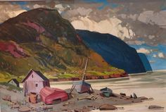 Baie des Chaleurs, 1983, by Bruno Cote