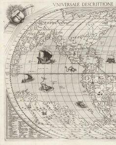 David Rumsey Historical Map Collection | Universale Descrittione Di Tutta la Terra Conosciuta Fin Qui. 1568
