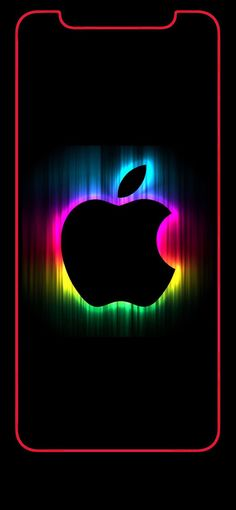 Wallpaper iPhone X - Apple logo rainbow 2 Iphone 6 Wallpaper Backgrounds, 2k Wallpaper, Apple Desktop, Apple Logo Wallpaper Iphone, Iphone Homescreen Wallpaper, Abstract Iphone Wallpaper, Ios Wallpapers, Mobile Wallpaper, Iphone 6 S Plus