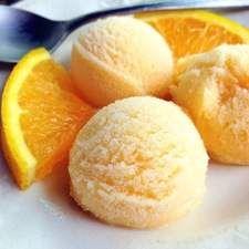 Orange Sherbet: King Arthur Flour