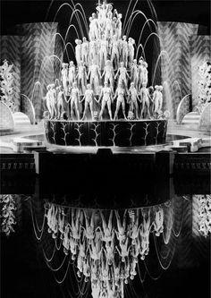 I'm not sure if this is from a film or from an actual show, but it is definitely Ziegfeld inspired.