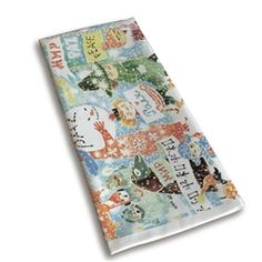 Opto Design Unicef/Peace Moomin Kitchen Towels designed in conjunction with the centenary of Tove Jansson's birth.  50 pence from every sale is donated directly to Unicef.