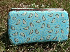 Paisley Fabric Covered Travel Baby Wipe by CrystalCreations108, $5.00
