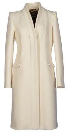 """The shape of this """"Just Cavalli"""" Coat reminds me of the Alexander McQueen piece worn by Kate on tour in 2014."""