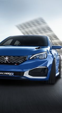 Peugeot 308 R HYbrid Is a 500PS AWD Concept