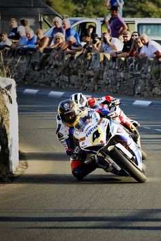 "Guy Martin. ""Solo"" winner Southern 100 (2013)"