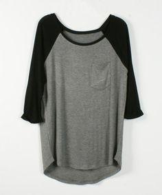 $24.00 | Stitching fashion T-shirt  XQ62824
