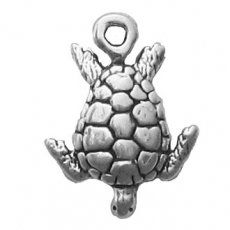 Sterling Silver Girls .8mm Box Chain 3D Porcupine Or Hedgehog Pendant Necklace