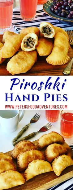 Beef Piroshki are a fried Russian hand pie, or meat pie. Simple, like an empanada. A favorite Russian snack stuffed with beef and onion. Beef Pirozhki (Жареные пирожки)